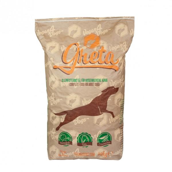 Veganes Hundefutter Greta Big Bag 14kg Vegan4Dogs Alleinfutter